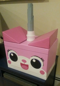 My kick-ass Unikitty mask